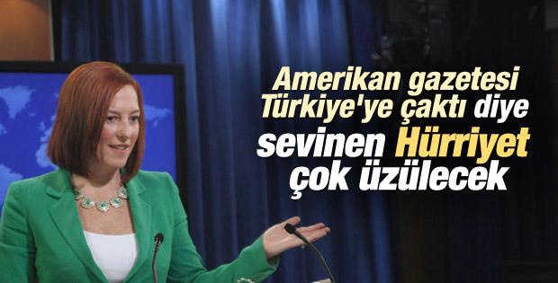 Jen Psaki: Türkiye-ABD ittifakı çatırdamıyor