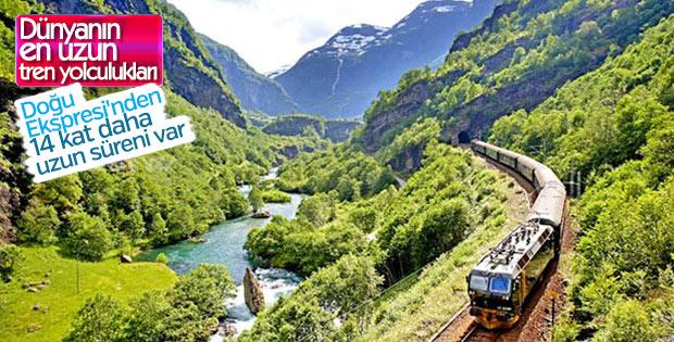 Rüya gibi geçecek tren yolculukları