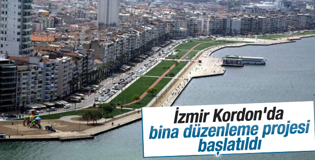 İzmir Kordon'da bina düzenleme projesi başlatıldı