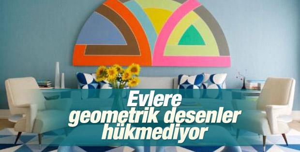 Evlere geometrik desenler hükmediyor