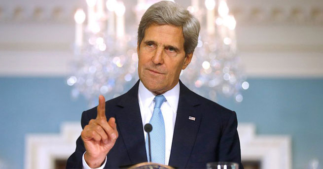 ABD Dışişleri Bakanı Kerry'den Rusya'ya suçlama