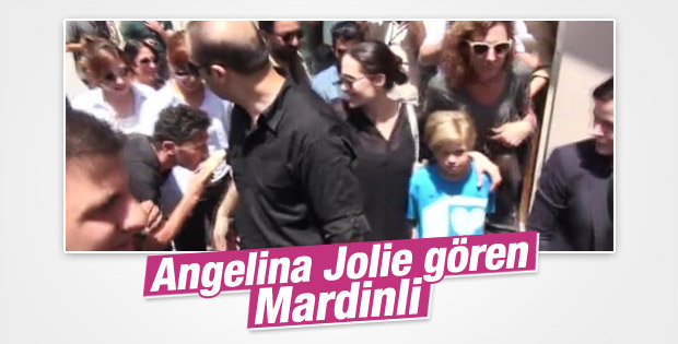Angelina Jolie'yi şaşırtan Mardinli