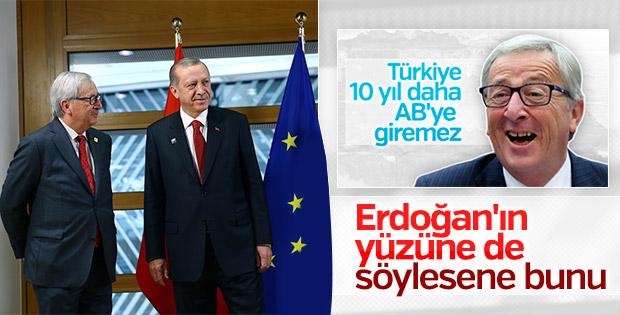 Erdoğan, Juncker ve Tusk ile bir araya geldi