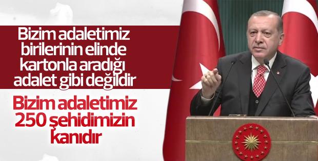 Cumhurbaşkanı Erdoğan, Beştepe'deki iftar programında
