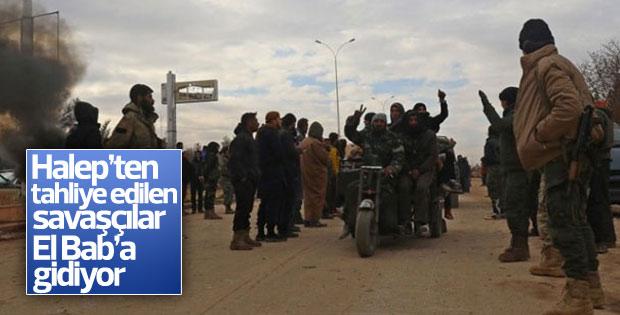El Bab'a muhalif savaşçılar takviye ediliyor