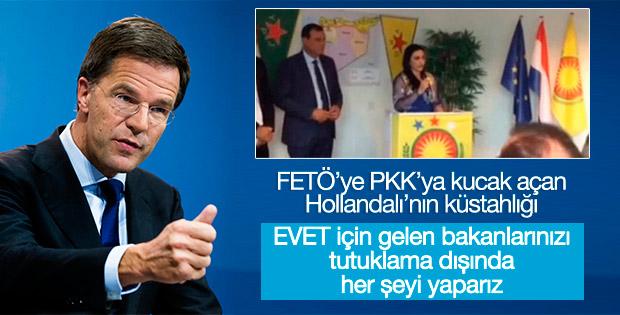 Hollanda Başbakanı'ndan Çavuşoğlu'na gelme çağrısı