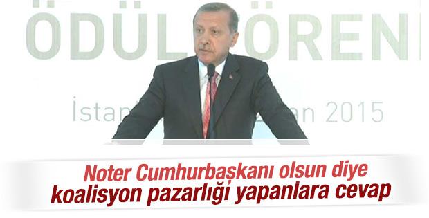 Cumhurbaşkanı Erdoğan: Talimata ihtiyacım yok