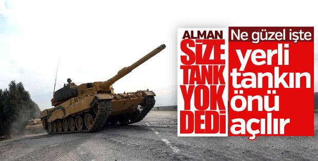 Almanya'dan Türkiye'ye Leopard tankı ambargosu
