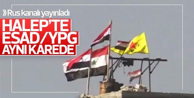 Halep'te Esad ve YPG işbirliği