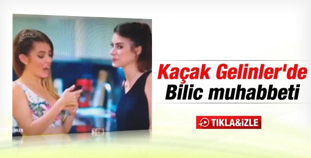 Kaçak Gelinler'de Beşiktaş muhabbeti İZLE