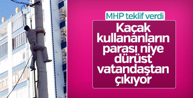MHP'den kayıp kaçak teklifi