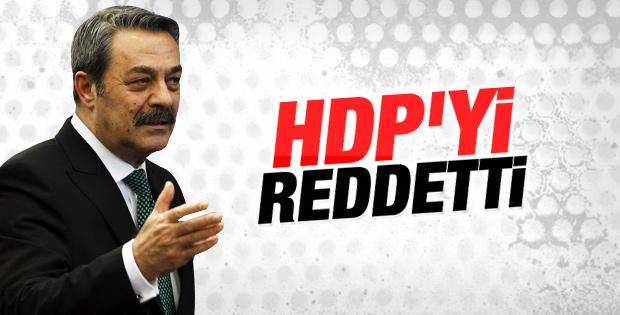 Kadir İnanır HDP'den aday olmayacak