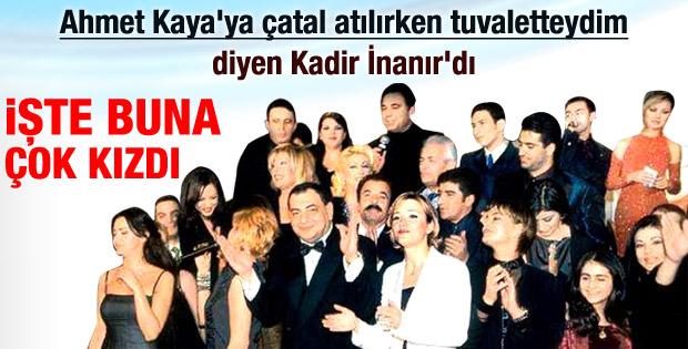 Kadir İnanır'dan Ahmet Kaya açıklaması