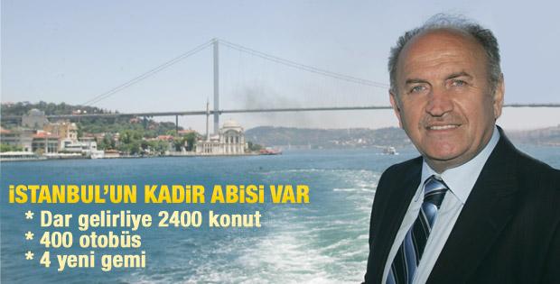 Kadir Topbaş'tan dar gelirlilere 2400 konut müjdesi