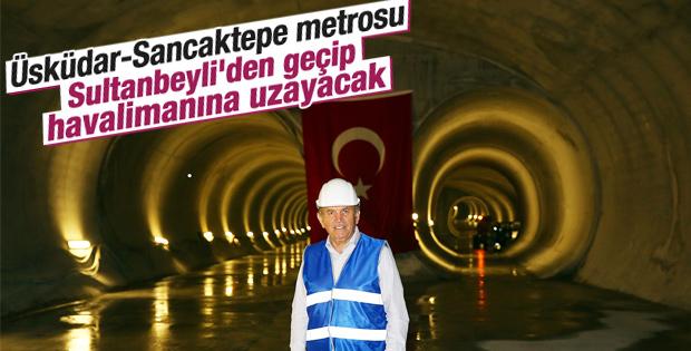 Üsküdar-Sancaktepe Metrosu'nda sona gelindi