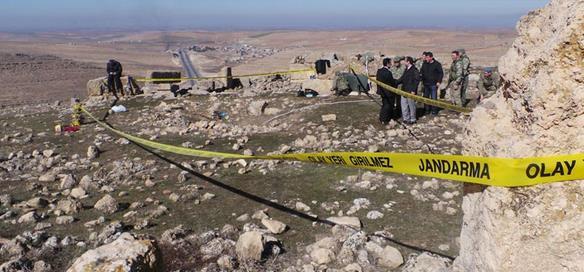 Diyarbakır'da 25 kişiye ait kafatası bulundu