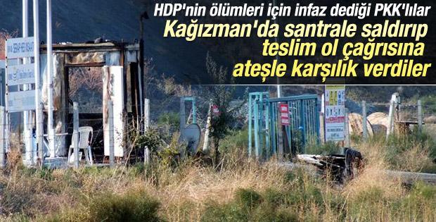 HDP askere ateş açan PKK'lıları savundu