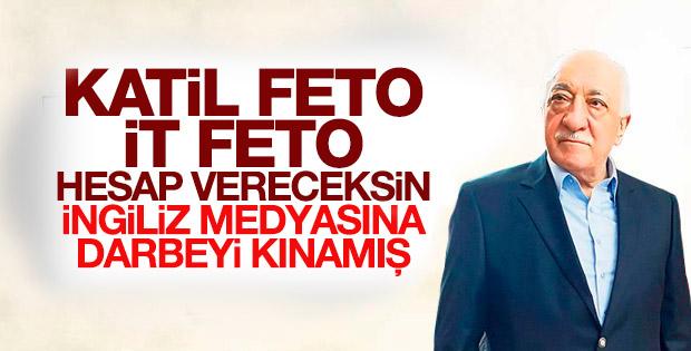 Fethullah Gülen darbe girişimini kınadı