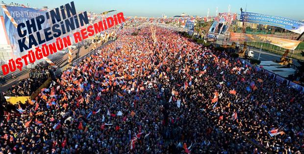 Başbakan Erdoğan'ın Antalya mitingi