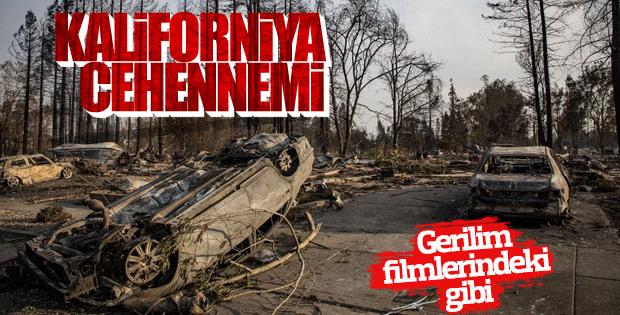 Kaliforniya'daki orman yangınlarında son durum
