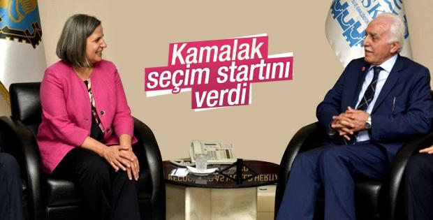 Mustafa Kamalak seçim çalışmalarına başladı