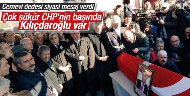 Kemal Kılıçdaroğlu Kamer Genç'in cenaze töreninde
