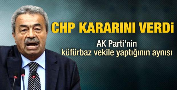 CHP Kamer Genç için kararını verdi