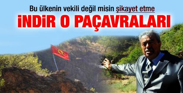 Kamer Genç: PKK bayrakları niye indirilmiyor