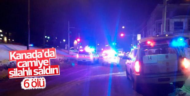 Kanada'da camiye silahlı saldırı düzenlendi