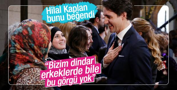 FOTOĞRAF: Kanada Başbakanı'nın Müslüman hassasiyeti