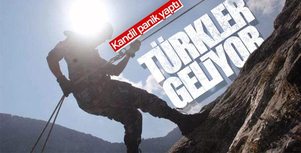 Kandil'de Türk askeri korkusu hakim
