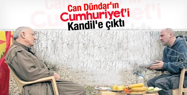 Ahmet Şık Kandil'de Cemil Bayık ile röportaj yaptı