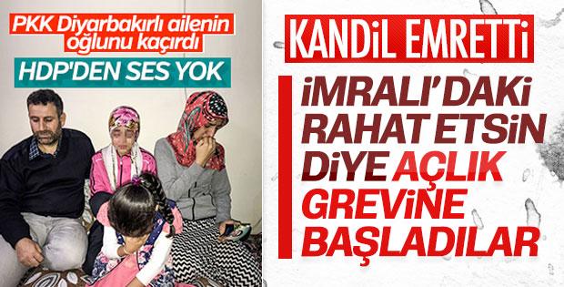 Mersin'de açlık grevindeki HDP'liler gözaltına alındı