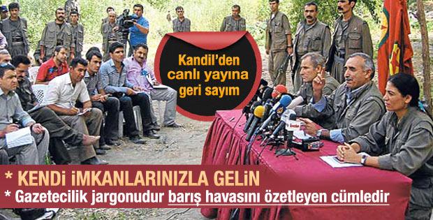 Gazeteciler Kandil'e akın etti