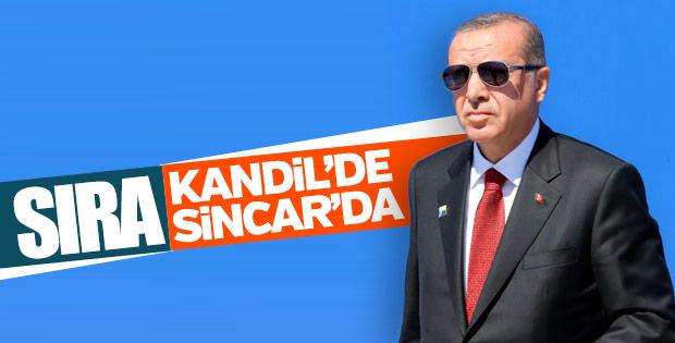 Erdoğan'dan terörle mücadelede kararlılık mesajı