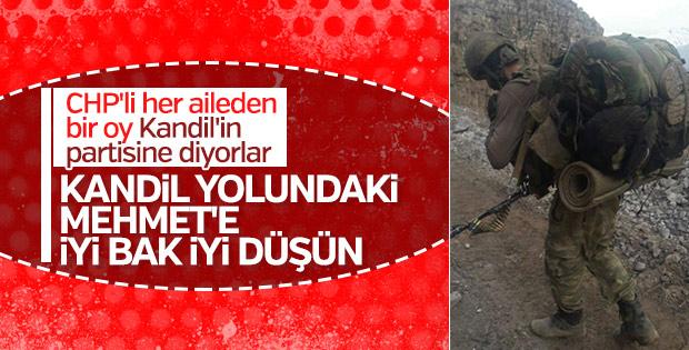 Türk askerinin hedefi Kandil