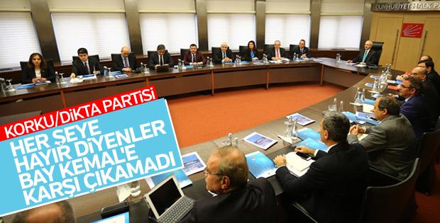 CHP'nin MYK kararı: Kılıçdaroğlu'nun arkasındayız