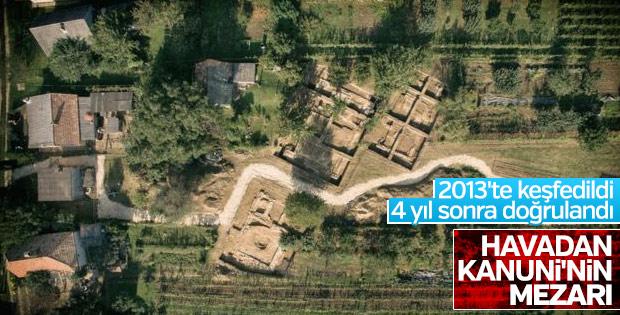 Zigetvar'da Kanuni Türbesi bulgularına ulaşıldı