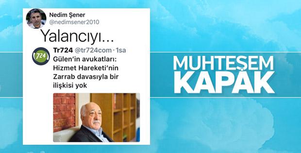 Nedim Şener'den Fetullah Gülen'e: Yalancıyı...