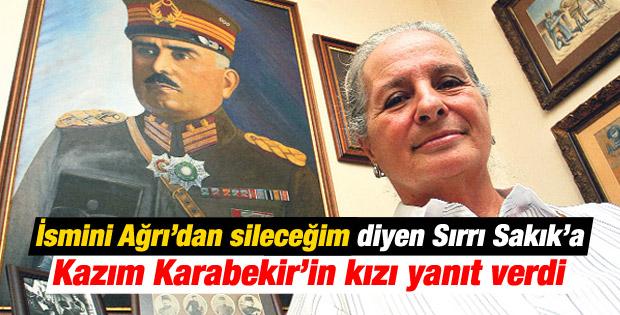 Karabekir'in kızı: Babam olmasa Sakık başkan olamazdı