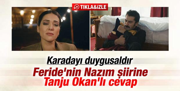 Karadayı'da Nazım şiiri ve Tanju Okan şarkısı İZLE