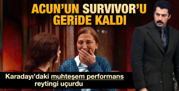 Karadayı dizisi Survivor'u reytingde geride bıraktı