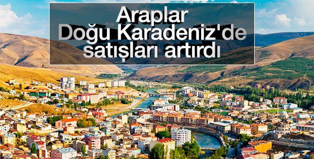 Arap turistlerin tercihi Doğu Karadeniz