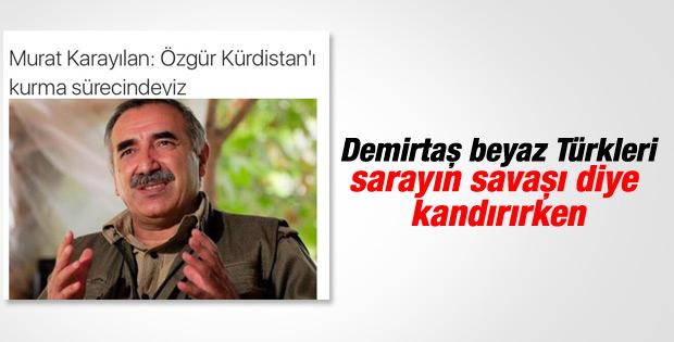 Murat Karayılan: Özgür Kürdistan'ı kurma sürecindeyiz