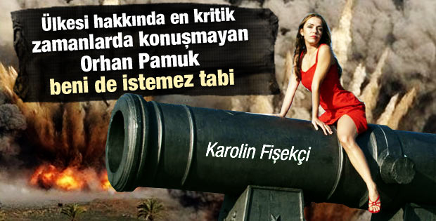 Karolin Fişekçi'den Orhan Pamuk'a ağır sözler İZLE