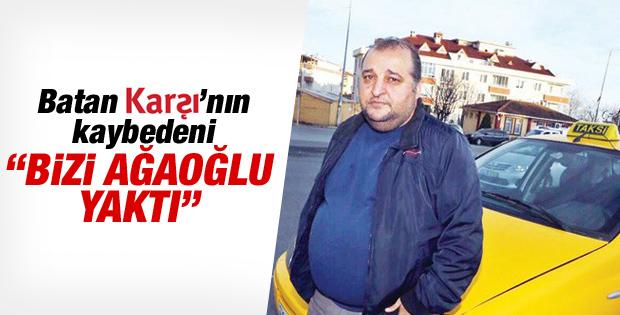 Batan Karşı gazetesinin sahibi taksi şoförlüğü yapıyor