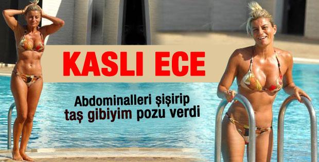 Kaslı sunucu Ece Vahapoğlu