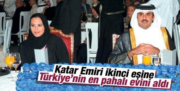 Katar Emiri ikinci eşine Türkiye'nin en pahalı yalısını aldı