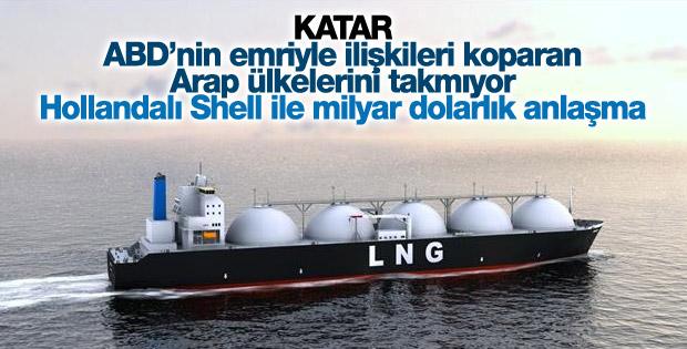 Katar Petrol'den Shell ile LNG anlaşması