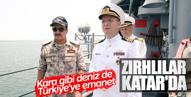 Katar ile Türkiye'den ortak deniz tatbikatı
